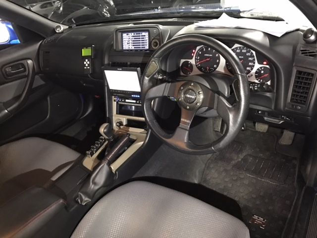 1999 Nissan Skyline R34 GT-R VSpec interior