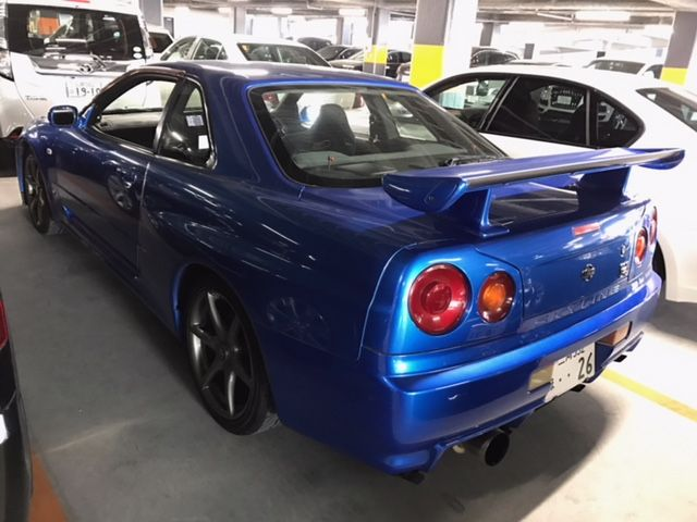 1999 Nissan Skyline R34 GT-R VSpec left rear
