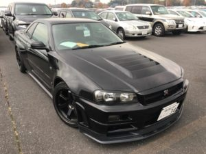 1999 Nissan Skyline R34 GT-R VSpec right front 2