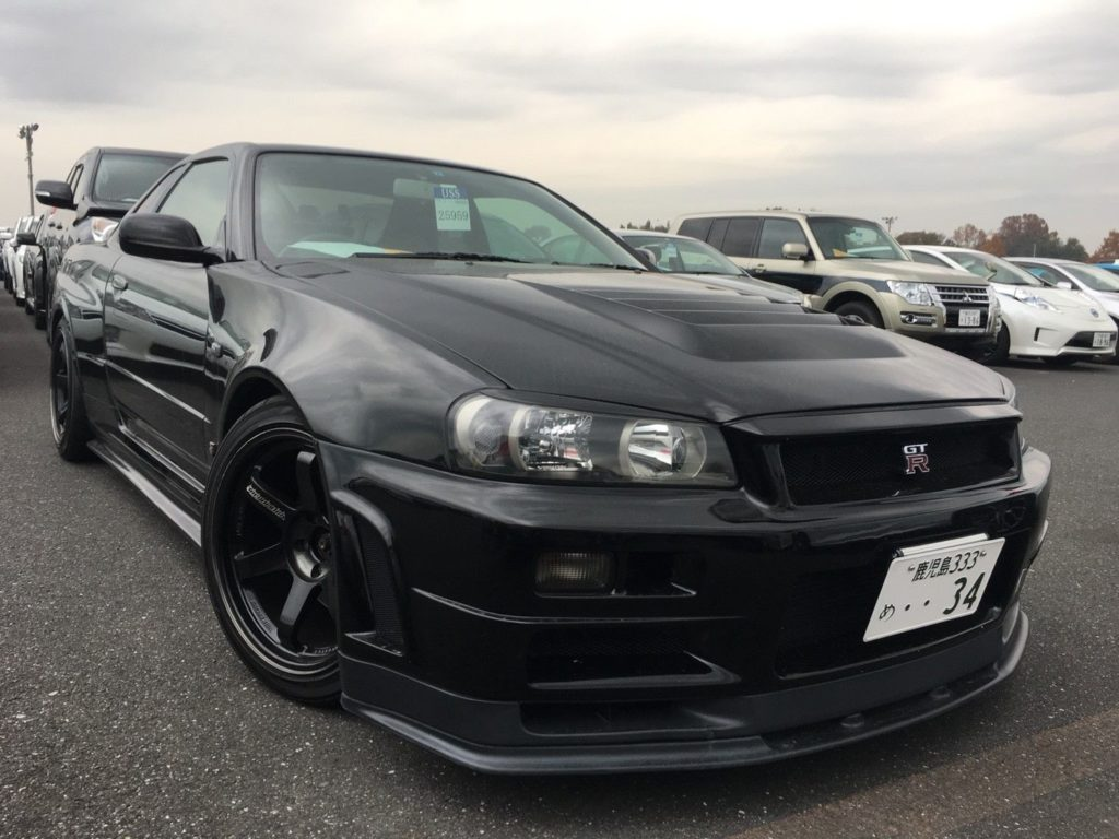 1999 Nissan Skyline R34 GT-R VSpec right front low