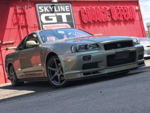 2002 Nissan Skyline R34 GTR VSpec 2 NUR right front