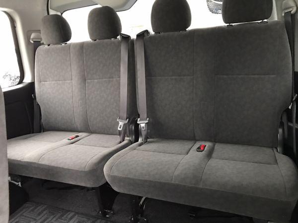 2014 Toyota Hiace GL 4WD TRH219 back seat