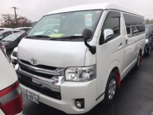 2014 Toyota Hiace GL 4WD TRH219 left front auction