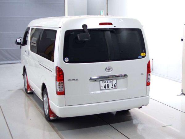 2014 Toyota Hiace GL 4WD TRH219 left rear