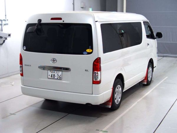 2014 Toyota Hiace GL 4WD TRH219 right rear