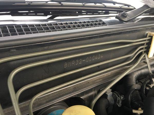 1990 Nissan Skyline R32 GT-R build number