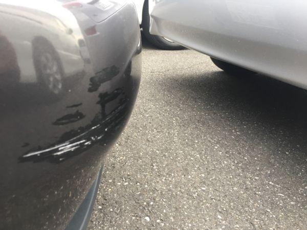 1990 Nissan Skyline R32 GT-R bumper scratch