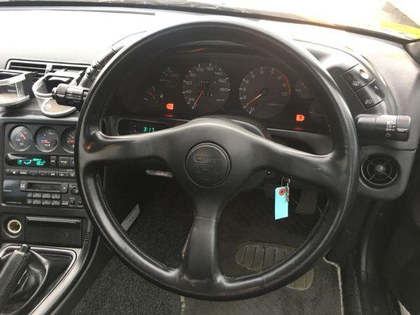 1990 Nissan Skyline R32 GT-R steering wheel