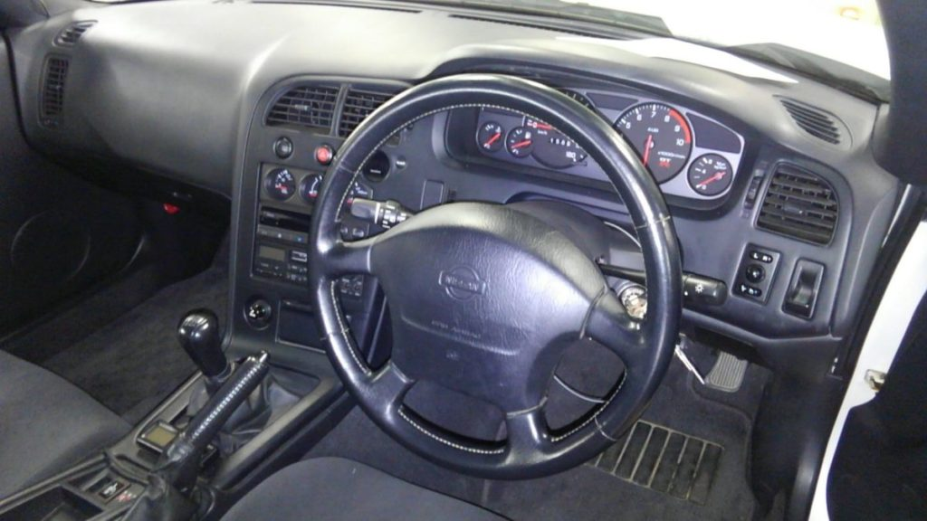 1995 Nissan Skyline R33 GTR VSpec underbody 14