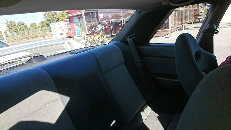 1994 Nissan Skyline R32 GT-R Series 3 rear seat