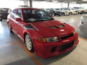 2000 Mitsubishi Lancer EVO 6 TME front right