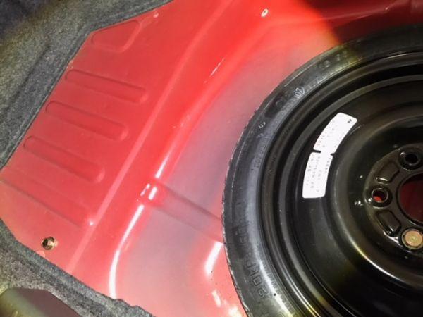 2000 Mitsubishi Lancer EVO 6 TME spare wheel