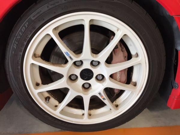 2000 Mitsubishi Lancer EVO 6 TME wheel 3