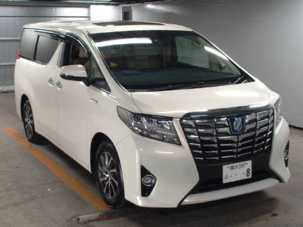 2015 Toyota Alphard Hybrid G Package 4WD 2.5L auction front
