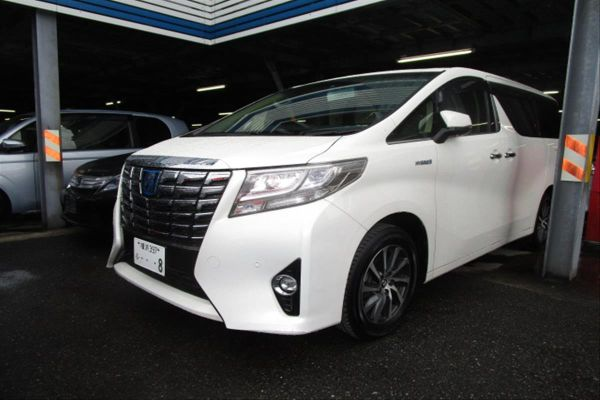 2015 Toyota Alphard Hybrid G Package 4WD 2.5L left front