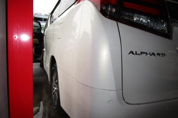 2015 Toyota Alphard Hybrid G Package 4WD 2.5L rear bumper