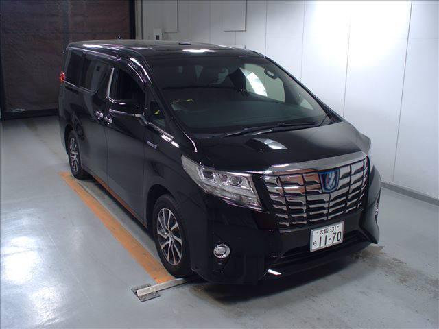 2016 Toyota Alphard Executive Lounge black