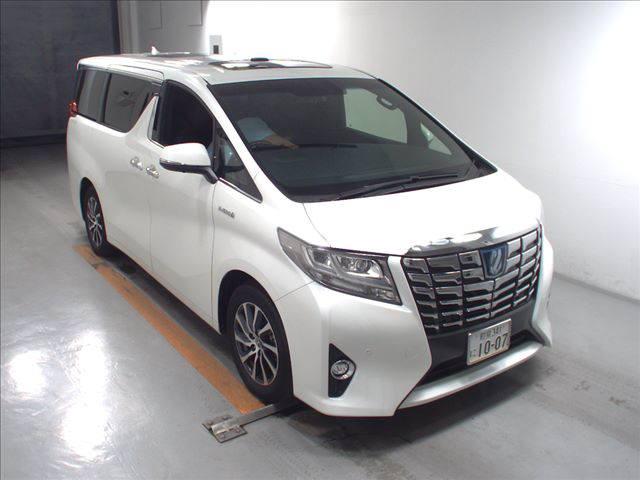 2016 Toyota Alphard Executive Lounge white