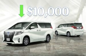Toyota Alphard Hybrid Price Reduction