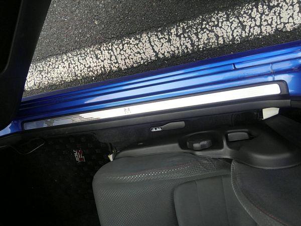 1999 Nissan Skyline R34 GT-R VSpec TV2 Bayside Blue door sill