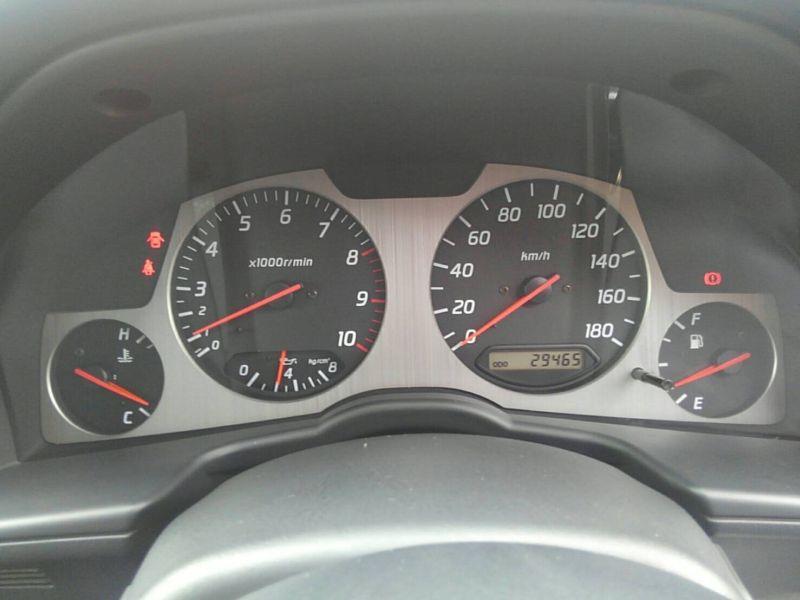 1999 Nissan Skyline R34 GT-R VSpec TV2 Bayside Blue gauges