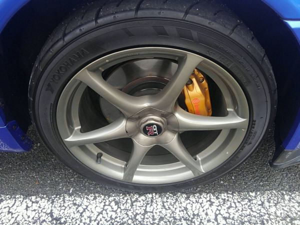 1999 Nissan Skyline R34 GT-R VSpec TV2 Bayside Blue wheel 2