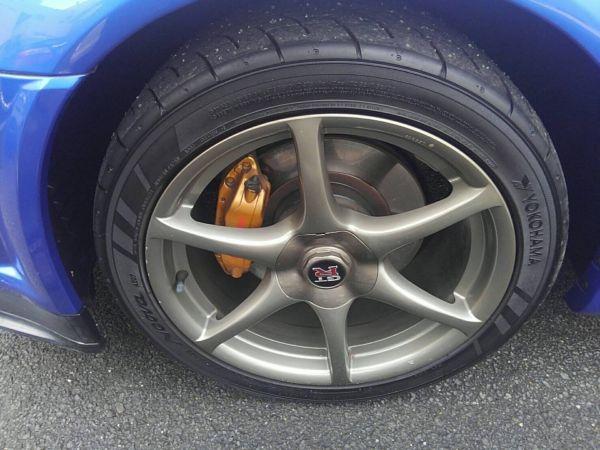1999 Nissan Skyline R34 GT-R VSpec TV2 Bayside Blue wheel