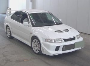 2000 Mitsubishi Lancer EVO 6.5 Tommi Mäkinen Edition auction front right