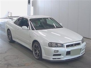 2001 Nissan Skyline R34 GT-R auction front