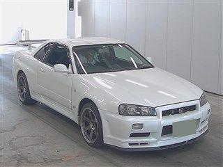 2001 Nissan Skyline R34 GT-R auction front