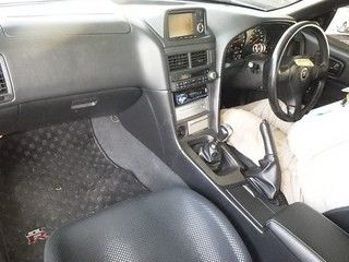 2001 Nissan Skyline R34 GT-R auction interior