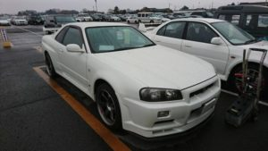 2001 Nissan Skyline R34 GT-R right front