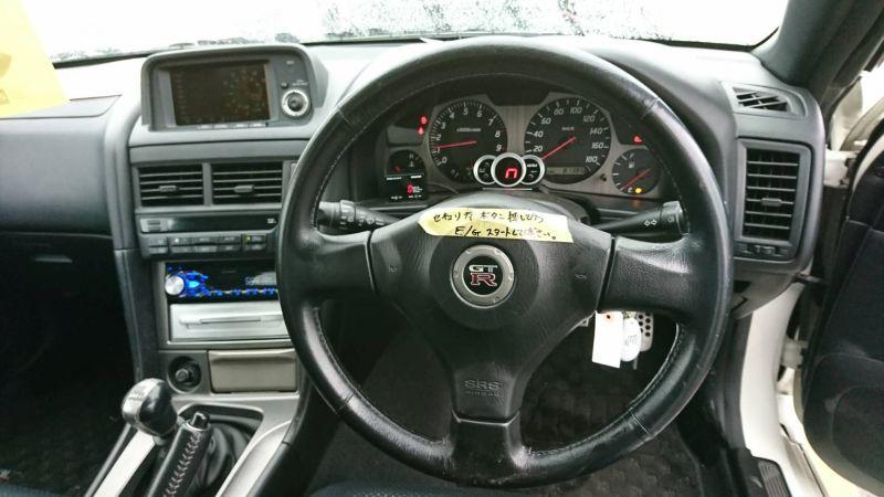 2001 Nissan Skyline R34 GT-R steering wheel