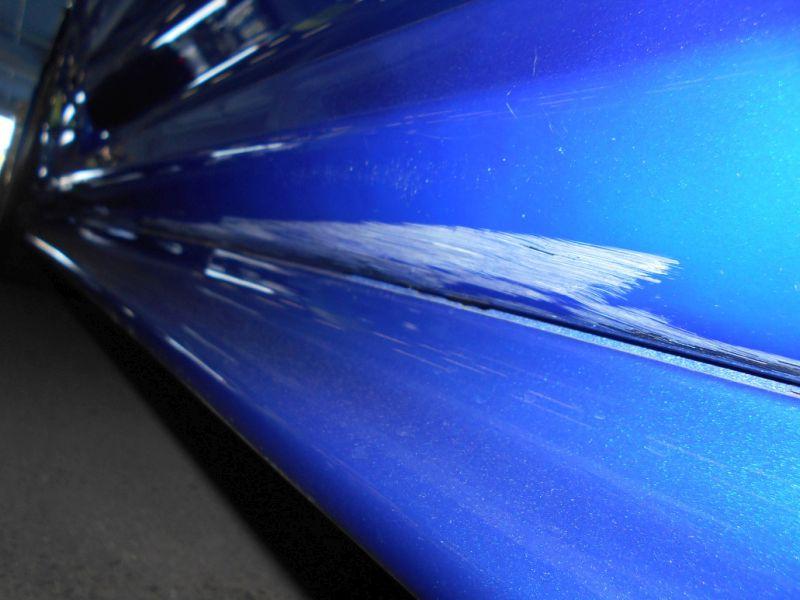 2001 R34 GTR VSpec II Bayside Blue scrape a