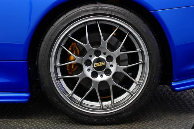 2001 R34 GTR VSpec II Bayside Blue wheel