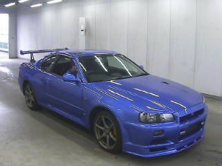 2002 Nissan Skyline R34 GT-R VSpec 2 auction front