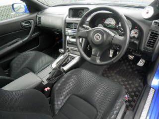 2002 Nissan Skyline R34 GT-R VSpec 2 auction interior