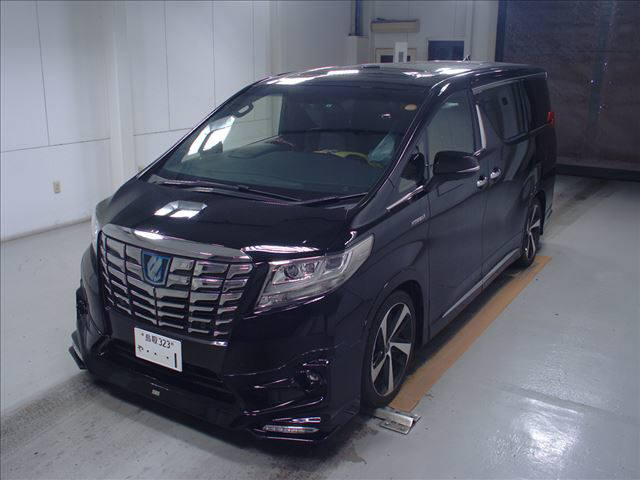 2015 Toyota Alphard HYBRID Executive Lounge 4WD 2.5L auction left front
