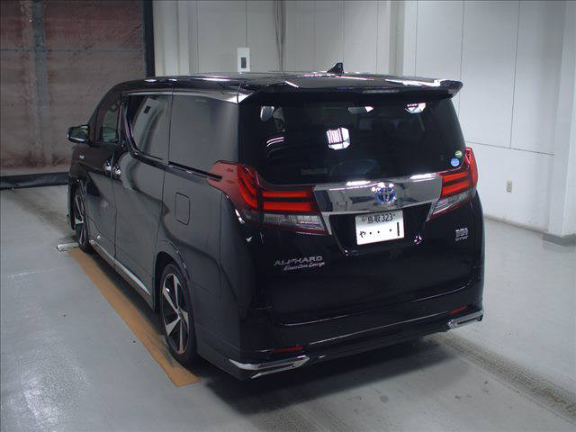 2015 Toyota Alphard HYBRID Executive Lounge 4WD 2.5L auction left rear