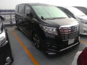 2015 Toyota Alphard HYBRID Executive Lounge 4WD 2.5L right front