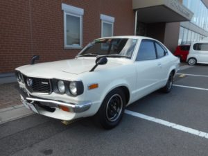 1976 Mazda RX 3 Savanna left front