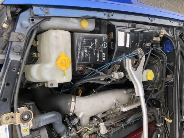 1999 Nissan Skyline R34 GTR VSpec Bayside Blue fender 2