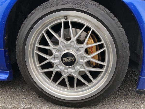 1999 Nissan Skyline R34 GTR VSpec Bayside Blue wheel 2