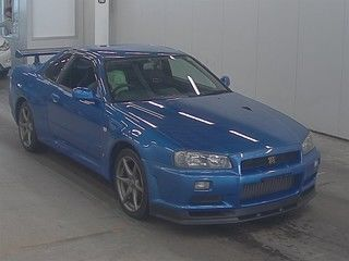 2001 Nissan Skyline R34 GT-R VSpec 2 auction front