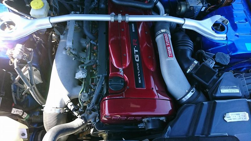 2001 Nissan Skyline R34 GT-R VSpec 2 engine bay