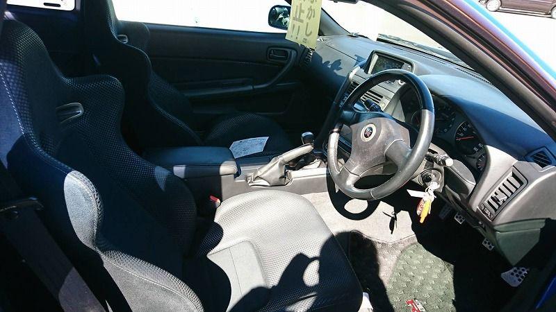 2001 Nissan Skyline R34 GT-R VSpec 2 interior 3