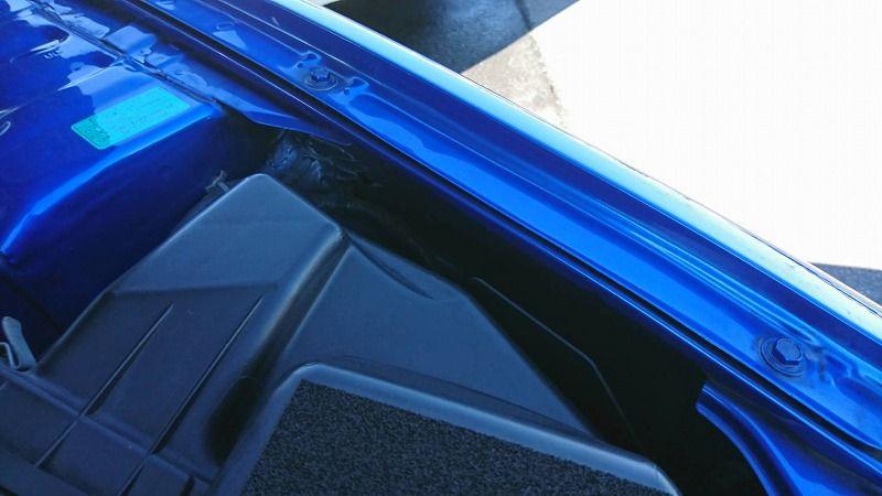 2001 Nissan Skyline R34 GT-R VSpec 2 left front fender