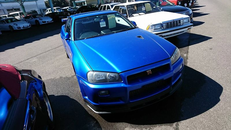 2001 Nissan Skyline R34 GT-R VSpec 2 right front