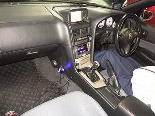 1999 Nissan Skyline R34 GTR VSpec MP2 auction interior