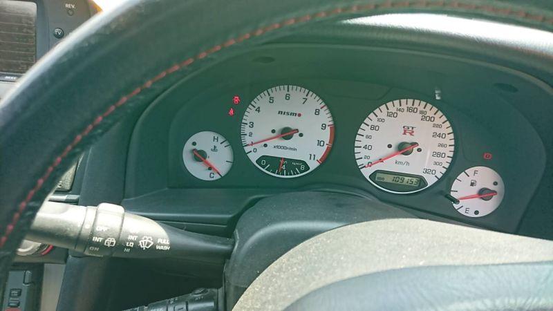 1999 Nissan Skyline R34 GTR VSpec MP2 cluster